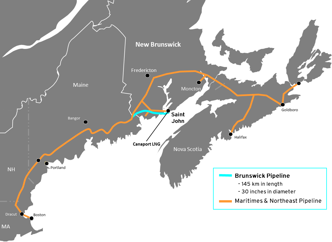 Map of the Pipeline