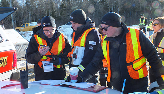 Safety EMERA NB Mock Emergency